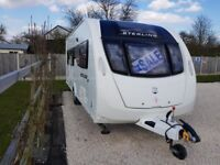Sterling Eccles Moonstone SE 4 berth caravan, 2013, excellent condition, fully serviced, many extras