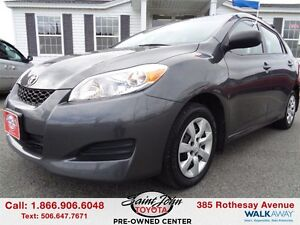 2013 Toyota Matrix AWD $130.14 BI WEEKLY!!!