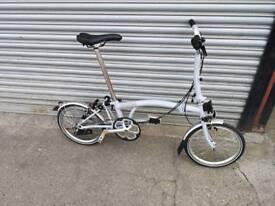 Brompton M3L Folding Bike New Condition