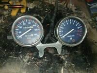 Clocks off Hyosung GA125