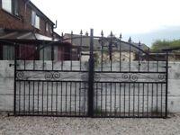 Wrought iron gates / Driveway gates / Garden gates / Metal gates/ Steel gates / Double house gates