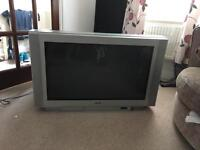 Sony 50 inch television with stand