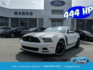 2013 Ford Mustang Boss 302 444 HP, 380 LB/PI