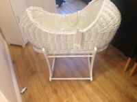 Mothercare Apples & Pear Moses basket