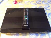 Almost new HUMAX You View Free view TV HDD Recorder, full smarts and catch up services, 500GB hard