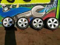 audi 17 alloys wheels genuine 2016 see description for more details £449 ono