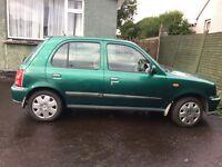 2001 Nissan Micra 1.0 petrol low mileage 41700