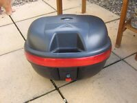 TWO MOTORCYCLE TOP BOXES FOR SALE