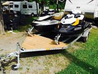 BRP Seadoo 2010 GTX Limited 260 and 2014 GTR 215