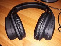 Excelvan Bluetooth Headphones Wireless Foldable Noise Isolating Headphones Portable Headset