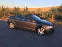 Audi A3 2.0 tdi convertible sport - low mileage!