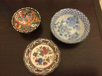 3 Pretty Little Decorative Dishes - Only £1 Each