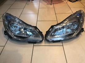 Corsa D facelift headlights