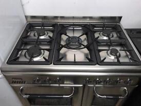 Range gas cooker 90cm scandinova