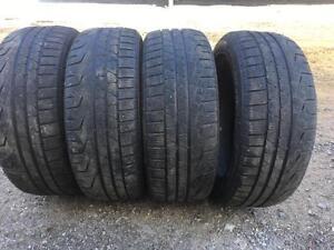 225/50/17 Pirelli winter tires