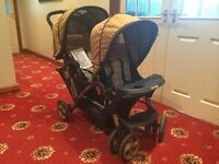 Twin Stadium duo pushchair