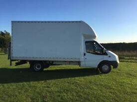 2008 ford transit Luton jumbo with tail lift