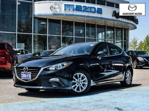 2015 Mazda MAZDA3 SPORT GS-Heated Seats, Bluetooth, Alloys, Back