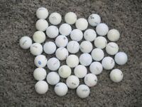 Golf Balls quantity of 40 mixed makes see photo's