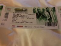 5 tickets darts final Taylor-Cross William Hill (Ally Pally)