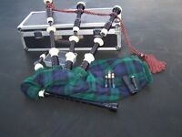 Shepherds ABW Bagpipes and flight case
