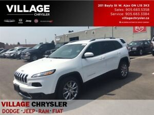 2017 Jeep Cherokee Limited|Nav|Leather|Remote|Heated Seats|Backu