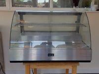 lincat scr1085 209ltr refrigerated showcase