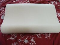 Memory Foam Pillow not used with cover