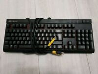 Corsair strafe mechanical keyboard red backlighting