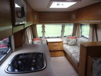 Bailey Pageant Champagne 2008 single axle lightweight 4 berth touring caravan.