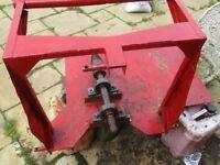 Tractor screw type firewood logsplitter pto drive £350 heavy duty