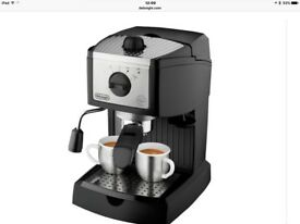 DeLonghi living innovation coffee/express machine