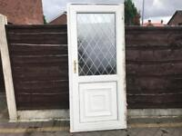 Upvc door and frame with key 🔑