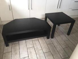 Tv table and coffee table