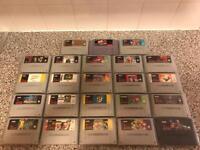 Super Nintendo Games Bundle