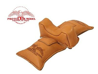 PROTEKTOR MODEL - NEW HUNTING RIFLE GUN REST EMPTY #5 STRADDLE BAG MADE IN USA for sale  Shipping to South Africa
