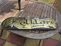 Folklore Skateboard Deck, like NEW