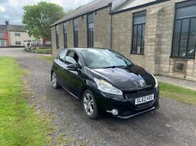 image for Peugeot 208 1.2 Petrol Full Service History Cheap Tax Low Miles