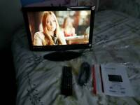 Tv Lcd 18.5 inch with built in dvd