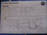 pet pen/room divider
