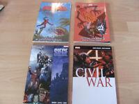 Marvel Graphic Novels For Sale New Deadpool Civil War Siege Spider-Man