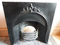 Victirian Cast Iron Fire Insert