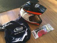 ARAI SNIPE R TOUR X4 KTM POWERWEAR MOTORCYCLE HEMET 1290 990 SUPERDUKE 690 DUKE