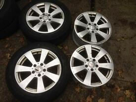 "16"" Mercedes Benz C Class Standard Alloys 5x112"