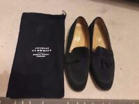 Charles Tyrwhitt black suede Loafers size 8.5
