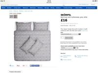 IKEA king size duvet cover and pillow cases