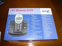 BT Diverse 5210 Digital Cordless Telephone with Additional Handset