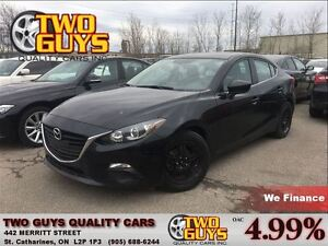 2014 Mazda MAZDA3 GS-SKY ALLOYS SHARP BLACK FINISH STANDARD TRAN