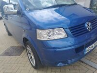 VW T5 long whel base van
