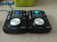 Pair of Citronic CD S6 Professional CD DJ Decks